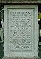 Bratislava Frantiskanske namestie text na marianskom stlpe1.jpg