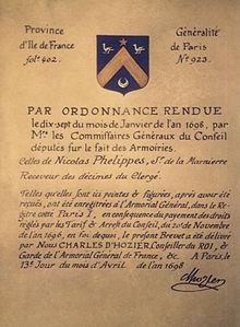 Armorial général de France — Wikipédia