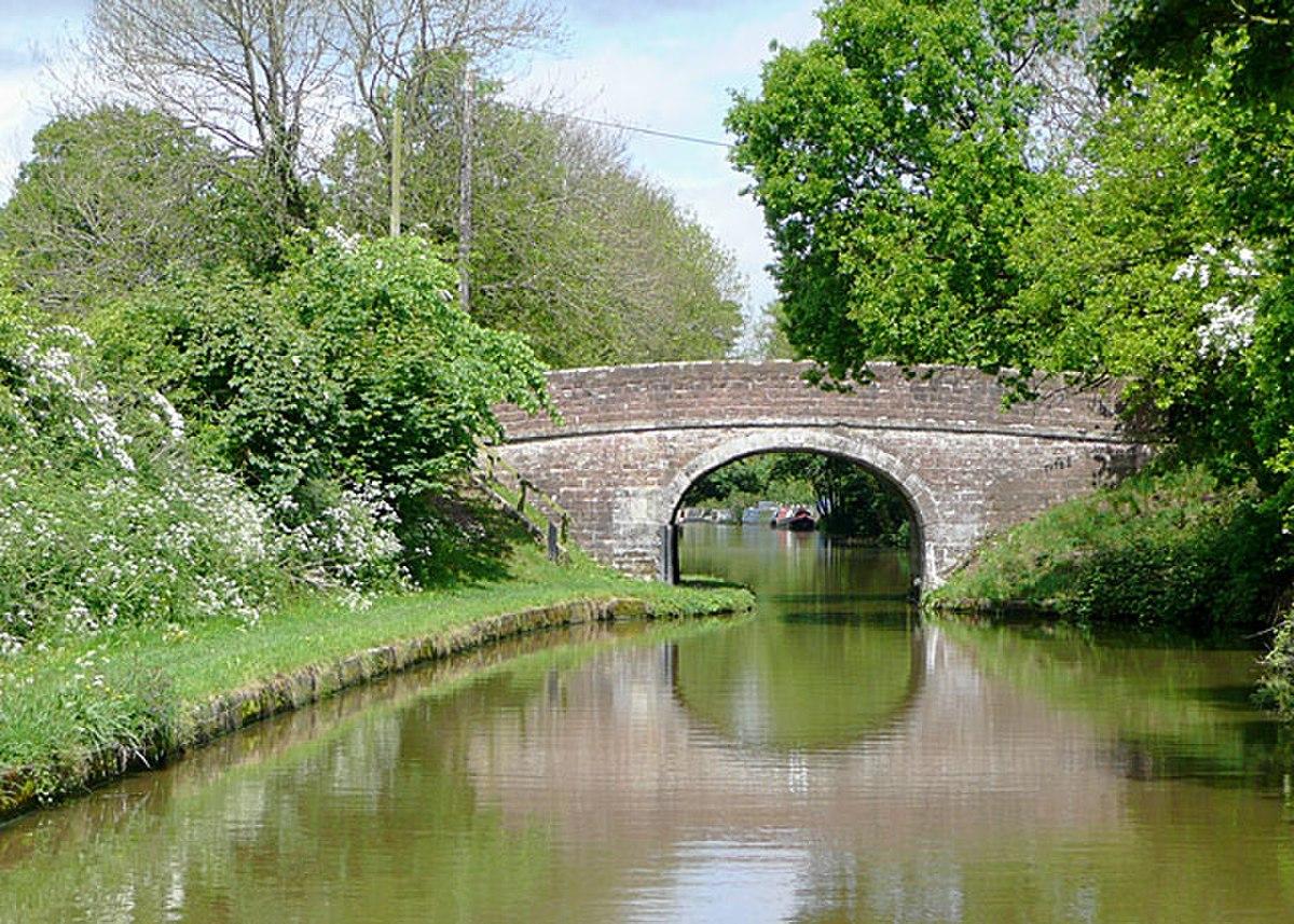 Bridge No 53, near Cheswardine, Shropshire - geograph.org.uk - 1588987.jpg