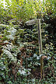 Bridleway fingerpost at Lower Beeding Lower Beeding, West Sussex, England 1.jpg
