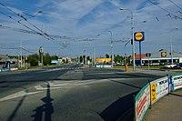 Brno-Slatina - Hviezdoslavova street from west.jpg