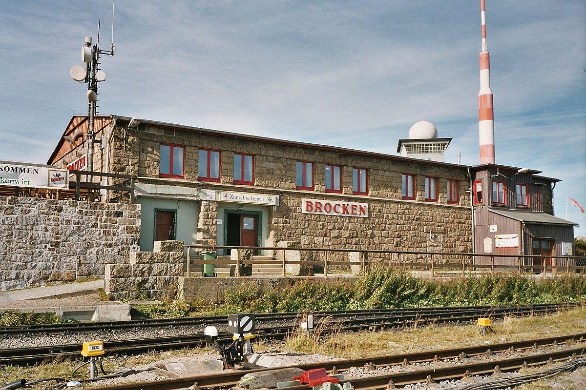 Brocken station - Wikipedia