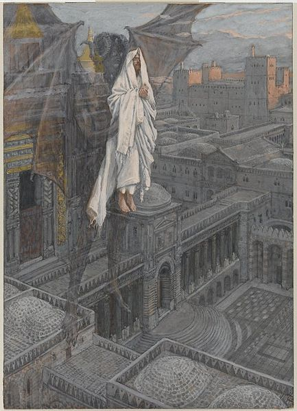 File:Brooklyn Museum - Jesus Carried up to a Pinnacle of the Temple (Jésus porté sur le pinacle du Temple) - James Tissot - overall.jpg