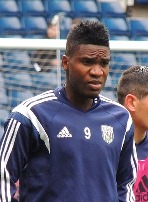 Brown Ideye - Ideye with West Bromwich Albion in 2014