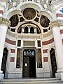Bucuresti, Romania. BISERICA AMZEI. (Intrarea principala in biserica) (B-II-m-B-18148).jpg