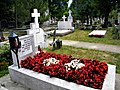 Bucuresti, Romania. Cimitirul BELLU CATOLIC. Mormantul compozitorului Dan Iagnov. 28 Mai 2018. (B-IV-a-B-20118).jpg