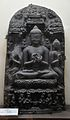 Buddha - 13th Regnal Year of Vigrapala - Circa 960-988 AD - Bihar - Indian Museum - Kolkata 2012-11-16 2006.JPG