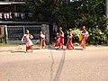 Buddhist female monk IMG 20180407 091916 yan aye street bahan yangoon.jpg