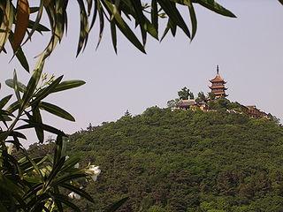 Guangjiao Temple (Nantong) building in Nantong, China