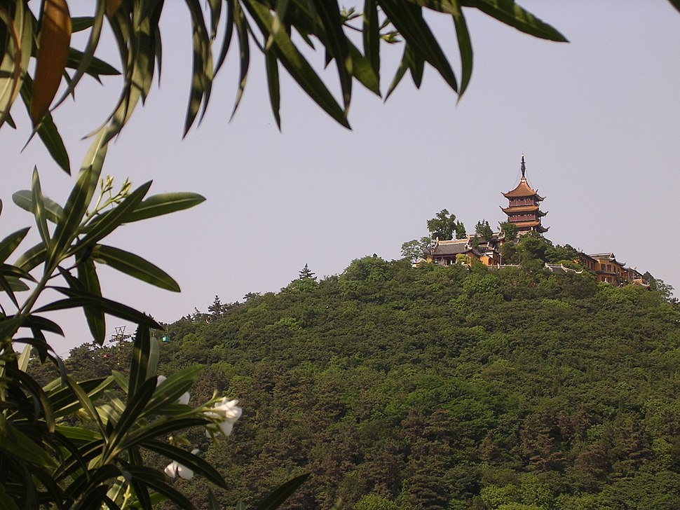 Buddhist temple on Wolf Hill