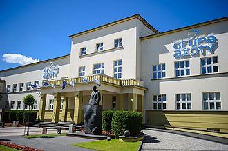 Grupa Azoty - Image: Budynek dyrekcji Grupa Azoty S.A