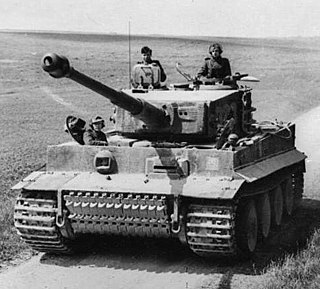 Tiger I 1942 heavy tank family