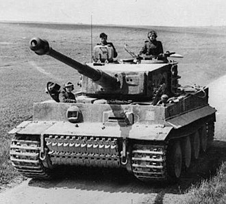 Tiger I - Tiger I in northern France, March 1944