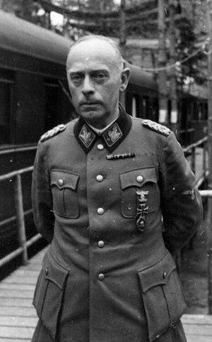 Karl Pfeffer-Wildenbruch - Image: Bundesarchiv Bild 101III Ege 237 06A, Karl Pfeffer Wildenbruch