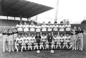F.C. Hansa Rostock - The squad of January 1990