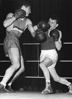 Constantin Ciucă Romanian boxer