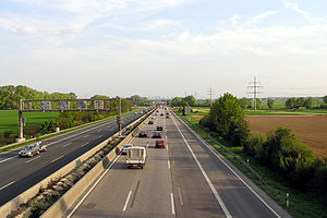 Bundesautobahn 5 - Image: Bundesautobahn 5 FFM