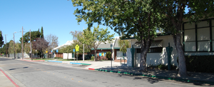 Burbank, Santa Clara County, California - The Luther Burbank School is located at 4 Wabash Avenue.
