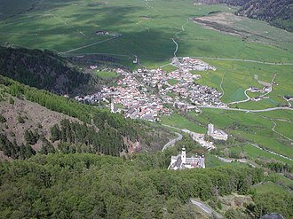 Burgeis - Burgeis and the Marienberg Abbey