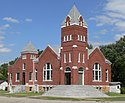 Burr Oak, Kansas United Methodist from SW 1.JPG