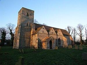 Burrough Green - Image: Burrough Green church geograph.org.uk 3298