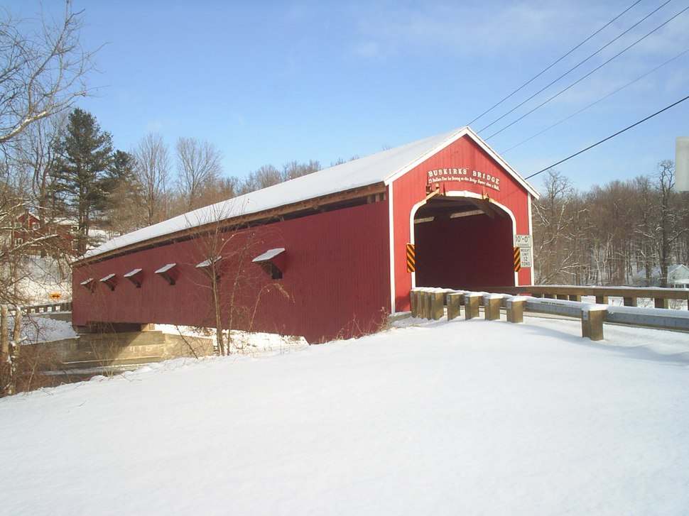Buskirk Covered Bridge 001