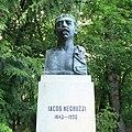 Bustul lui Iacob Negruzzi din Parcul Copou, Iaşi.jpg