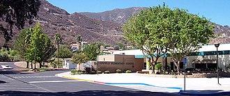 Butterfield Elementary School (Lake Elsinore, California) - Front of Butterfield Elementary School