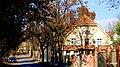 Bytom - Miechowice ulica Matki Ewy a po prawej budynek plebani na terenie domu opieki. - panoramio.jpg