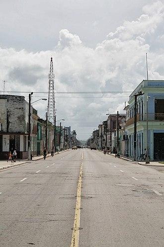 Cárdenas, Cuba - Image: Cárdenas Main street, Cuba (2013)