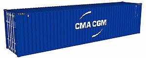 CMA CGM - CGA CGM shipping container