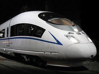 China Railway CRH3 high speed train