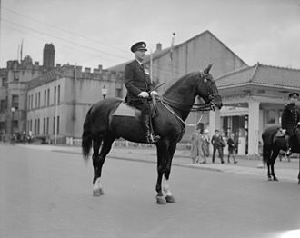 William Wasbrough Foster - Colonel W. W. Foster, Vancouver's Chief Constable, 1 July 1935.