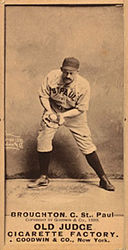 Cal Broughton, Old Judge card.jpg