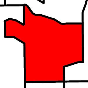Calgary-Glenmore - Image: Calgary Glenmore electoral district 2010