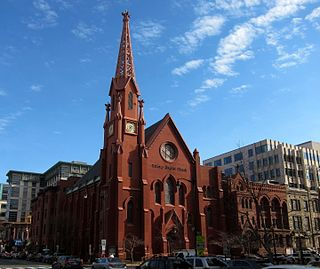 Calvary Baptist Church (Washington, D.C.) Church in NW, United States