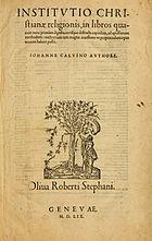 CalvinInstitutio