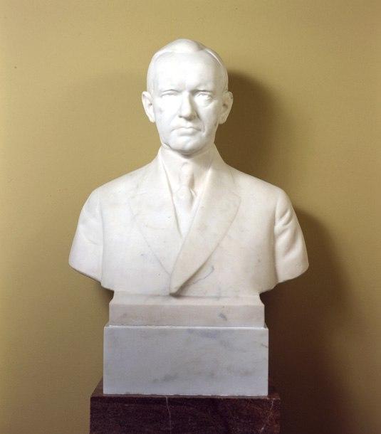 Calvin Coolidge bust