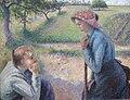 Camille Pissarro Jeunes paysannes.JPG