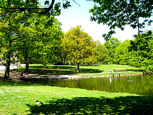 University Park, Aarhus - Image: Campussee