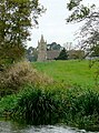 Canal bank and St James's Church, Acton Trussell, Staffordshire - geograph.org.uk - 1574655.jpg