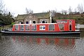 Canal boat on the Union Canal at Ratho - geograph.org.uk - 405130.jpg