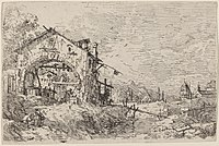 Canaletto, Landscape with a Woman at a Well, c. 1735-1746, NGA 775.jpg