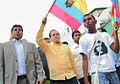 Canciller Patiño encabeza marcha de apoyo al Presidente de la República, Rafael Correa (5040513718).jpg