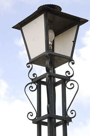 Energy in Portugal - A Portuguese street lamp