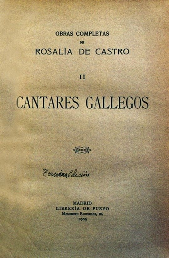 A 3ª ed. foi o tomo 2º das Obras completas (1909).