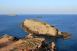 Blick vom Kap Apostolos Andreas nach Nordosten