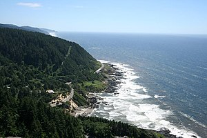 Siuslaw National Forest - Cape Perpetua on the Lincoln County coast