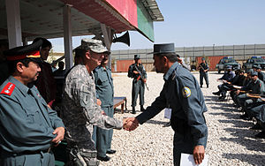 Captain Amandullah graduates from the Afghan N...