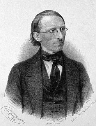 Carl Ludwig - Carl Ludwig in 1856